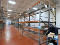 (22) Sections of Pallet Racking, Approsimate 8' x 4' x 12', and (2) Sections Approximate 12' x 4' x
