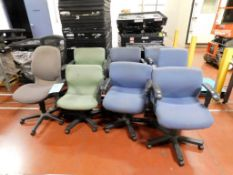 (9) Office Chairs.