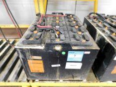 C&D Technologies C-Line Industrial Forklift Battery, Serial # 6H50949.