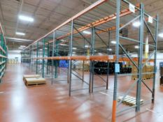 (12) Sections of Pallet Racking, Approsimate 8' x 4' x 12'. (NO CONTENTS)