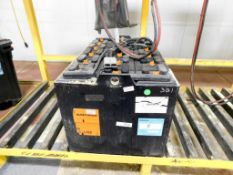 C&D Technologies C-Line Industrial Forklift Battery, Serial # 6H50939.