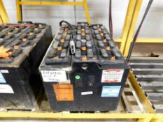 C&D Technologies C-Line Industrial Forklift Battery, Serial # 6H50936.
