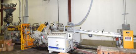 """Battenfeld Gloucester 36"""" Wide Inclined Sheet Extrusion Line"""