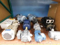 Assorted 3 Phase Motors