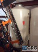 2000 liter (500 gallon) Pasco Poly High Density Polypropylene Tank