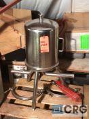 12 inch Lenticular stainless steel filter housing