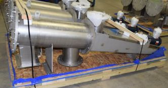 UNUSED S. Howes Inclined Centrifugal Sifter