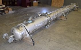 UNUSED Samuel Pressure Vessel Group Bolt Together Distillation Column