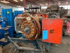 "Used- Beringer 12"" Hydraulic Slide Plate Screen Changer. Model 1200. (2) 12"" nominal breaker plates."