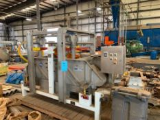 Sweco Rectangular Separator, Model MM4-1W. Stainless Steel. Serial Number 127951-A08/16, 460 Volt, 3