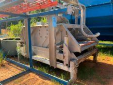 Sweco Rectangular Separator, Model MM4-1W. Stainless Steel. Serial Number 127951-D08/16, 460 Volt, 3