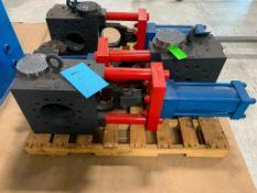 "Beringer 6"" Hydraulic Slide Plate Screen Changer with 1 Breaker Plate"