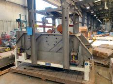 Sweco Rectangular Separator, Model MM4-1W. Stainless Steel. Serial Number 127976-D08/16, 460 Volt, 3