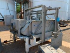 Sweco Rectangular Separator, Model MM4-1W. Stainless Steel. Serial Number 127976-A08/16, 460 Volt, 3