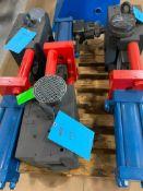 "Beringer 6"" Hydraulic Slide Plate Screen Changer with 2 Breaker Plates"