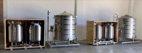 UNUSED - New In Crates - Eden Labs 3-Circuit Ethanol Platform Extraction & Solvent Recovery System