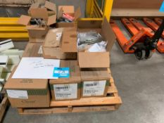 LOT: Assorted Shrink Wrap Supplies & Parts on (1) Pallet