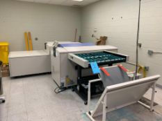 2011 Screen Model PT-RA4300S CTP Thermal Plate Recorder & Plate Processor, S/N 7124 (2011), with 201