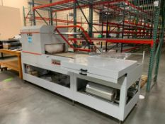 2014 Clamco DEM 6 Combo Semi-Automatic Heat Sealer, Tunnel, and Inverter System Model 986-000046, S/