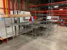 LOT: Assorted Uline Metro Racks