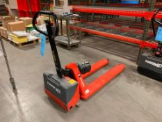 Interthor 3300 Lbs. Electric Pallet Jack Model Thork Lift, w/ Ship'n Shore 10 Amp Battery Charger