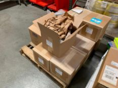 """LOT: Assorted Uline Reclosable Bags and 12"""" Doublewing Easeles with tape on (1) pallet"""