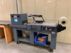 2009 Heat Seal Combination Shrink Wrap System and Heat Shrink Tunnel Model HS-115/8 1P, S/N S1A19782