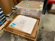 "LOT: Est. (500) Ryobi 750 XL Plates on (2) Pallets, GEM-5 29.937"" x 25.000"" x .008"""