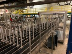 LOT: All Krones Bottle Laner/Diverter Conveyor throughout Packaging Area