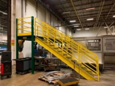 Mezzanine and Stairs (Packaging Room)