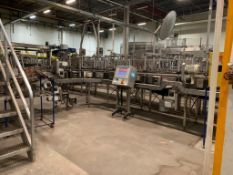 LOT: All Krones Multico S Full Case Conveyor throughout Packaging Area