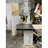 "MSC Indus. Supply Vert. Band Saw - Model 09514647 / SN# V0450335 / 27"" x 29"" Tilting Table / 20"""