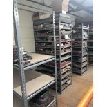 (2) Metal Shelving 6'Hx3'Wx2'D, NO CONTENTS