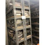 (2) Metal Shelving 7'Hx4'W,2'D, NO CONTENTS