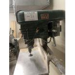 "Boshco Pedestal Type Drill Press - 8"" Throat / 6"" Stroke / 3/4HP"