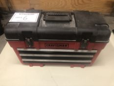 Craftsman Tool Box with Misc. Contents