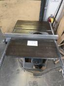 Delta Uni Saw Table Type - Fence / Catalog 34-7615 / SN# 85J20331