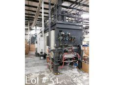 5 lbs. Dual-Head Cincinnati Blow Molding Machine