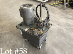 3 HP, 15 Gal Rex Roth Hydraulic Unit with Heat Exchanger
