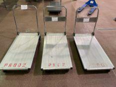 3 portable carts