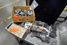{LOT} Transmission Shift Levers, Fabricated Plates, Piston and Motor Heads
