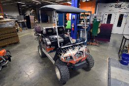 Yamaha Gas Powered Golf Cart w/ Boss Head Unit and Speaker System, OCC Custom