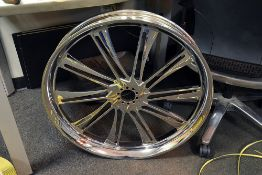 "Custom 27"" Motorcycle Rim"