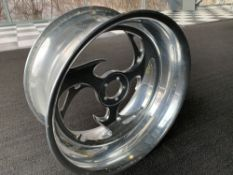"Chrome Motorcycle Rim, 19""x9"""