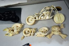 {LOT} 3d Printed OCC Bike Art