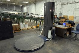 Lantech Q300 Semi Automated Stretch Wrapping System