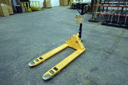 Uline H-1043 5,500lb Manual Pallet Jack
