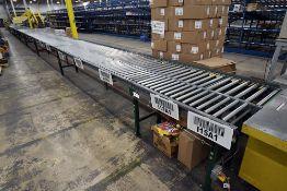 Buschman and Hytrol Roller Conveyor System