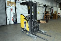 """Yale 3,500 lbs. Capacity, Upright Reach Forklift w/ 203"""" Lift Height"""
