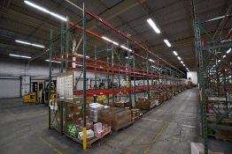 """Group of 26 Sections of Teardrop Style Pallet Racking, 14' x 42"""""""